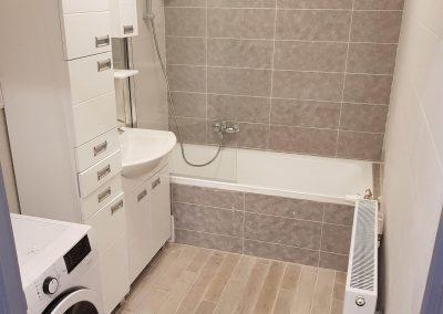 Elkészült fürdőszoba.