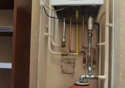 Baxi kondenzációs kazán külső hőmérséklet érzékelővel